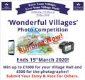 'Wonderful Villages' Photo Competition begins!